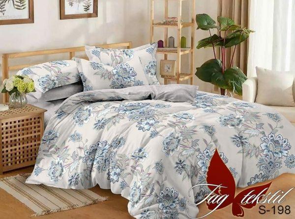 Комплект постельного белья с компаньоном S198  ПОСТЕЛЬНОЕ БЕЛЬЕ ТМ TAG > 1.5-спальные > Сатин люкс ТМ TAG