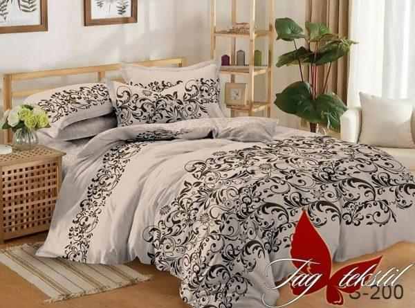 Комплект постельного белья с компаньоном S200  ПОСТЕЛЬНОЕ БЕЛЬЕ ТМ TAG > 1.5-спальные > Сатин люкс ТМ TAG
