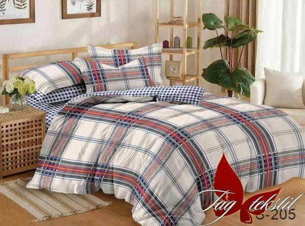 Комплект постельного белья с компаньоном S205  ПОСТЕЛЬНОЕ БЕЛЬЕ ТМ TAG > 1.5-спальные > Сатин люкс ТМ TAG