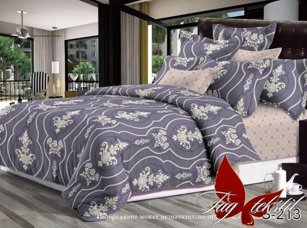 Комплект постельного белья с компаньоном S213  ПОСТЕЛЬНОЕ БЕЛЬЕ ТМ TAG > 2-спальные > Сатин люкс ТМ TAG