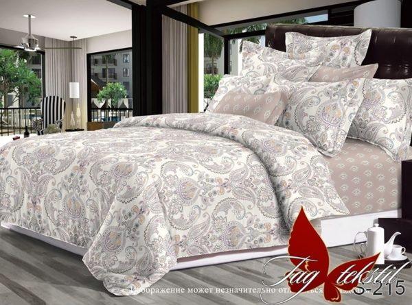 Комплект постельного белья с компаньоном S215  ПОСТЕЛЬНОЕ БЕЛЬЕ ТМ TAG > 1.5-спальные > Сатин люкс ТМ TAG