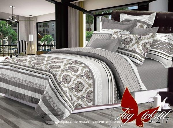 Комплект постельного белья с компаньоном S217  ПОСТЕЛЬНОЕ БЕЛЬЕ ТМ TAG > 1.5-спальные > Сатин люкс ТМ TAG
