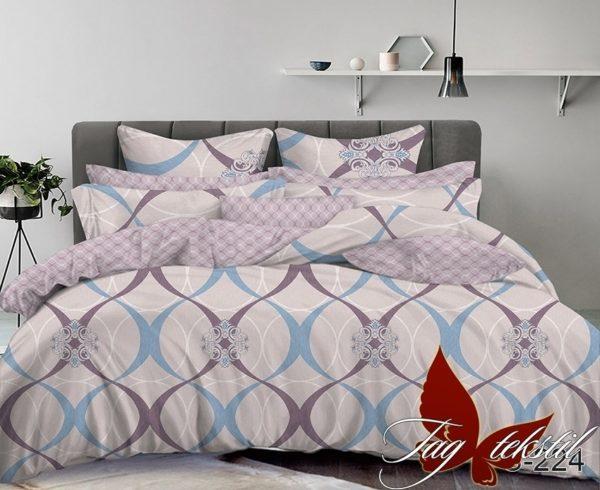 Комплект постельного белья с компаньоном S224  ПОСТЕЛЬНОЕ БЕЛЬЕ ТМ TAG > 1.5-спальные > Сатин люкс ТМ TAG