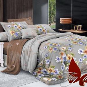 Комплект постельного белья с компаньоном S235  ПОСТЕЛЬНОЕ БЕЛЬЕ ТМ TAG > 1.5-спальные > Сатин люкс ТМ TAG