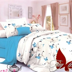 Комплект постельного белья с компаньоном S236  ПОСТЕЛЬНОЕ БЕЛЬЕ ТМ TAG > Семейные > Сатин люкс ТМ TAG