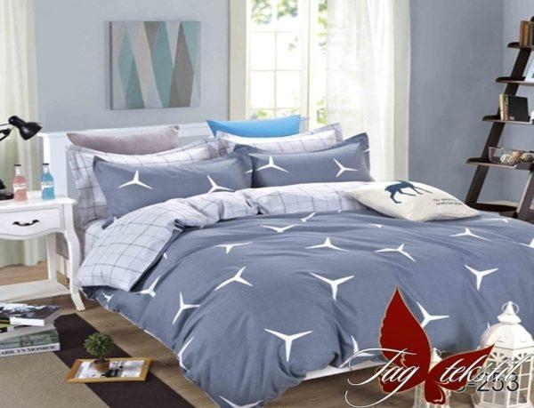 Комплект постельного белья с компаньоном S253  ПОСТЕЛЬНОЕ БЕЛЬЕ ТМ TAG > Семейные > Сатин люкс ТМ TAG