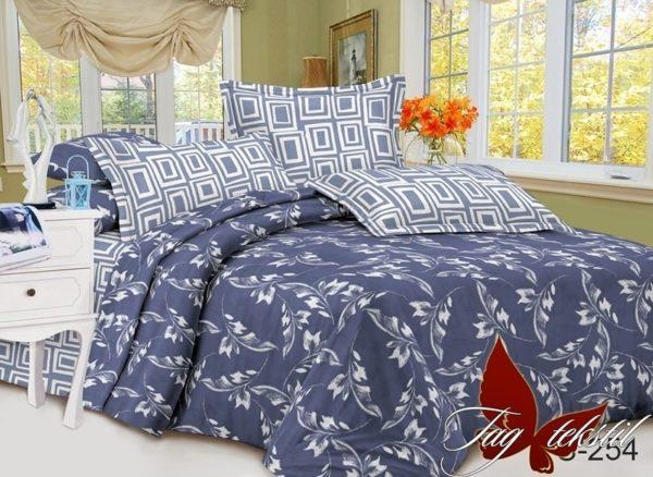 Комплект постельного белья с компаньоном S254  ПОСТЕЛЬНОЕ БЕЛЬЕ ТМ TAG > Семейные > Сатин люкс ТМ TAG