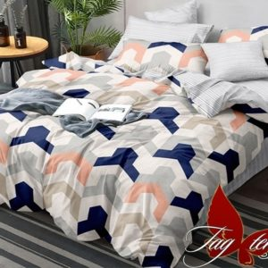 Комплект постельного белья с компаньоном S259  ПОСТЕЛЬНОЕ БЕЛЬЕ ТМ TAG > Семейные > Сатин люкс ТМ TAG