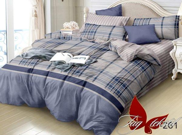 Комплект постельного белья с компаньоном S261  ПОСТЕЛЬНОЕ БЕЛЬЕ ТМ TAG > Семейные > Сатин люкс ТМ TAG