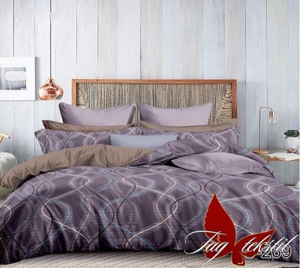 Комплект постельного белья с компаньоном S269  ПОСТЕЛЬНОЕ БЕЛЬЕ ТМ TAG > Евро > Сатин люкс ТМ TAG
