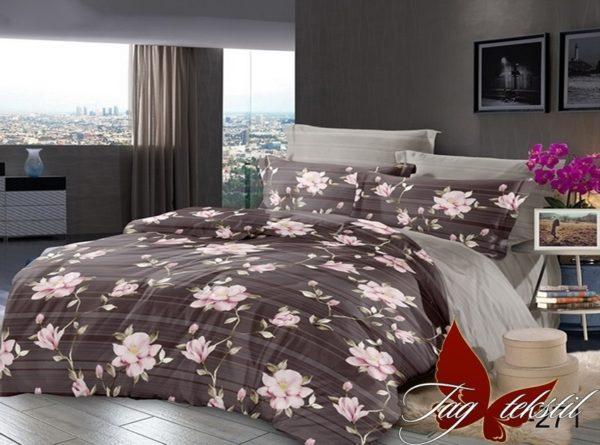Комплект постельного белья с компаньоном S271  ПОСТЕЛЬНОЕ БЕЛЬЕ ТМ TAG > 1.5-спальные > Сатин люкс ТМ TAG
