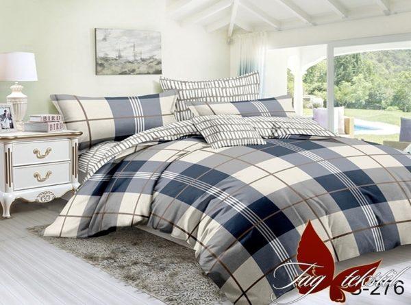 Комплект постельного белья с компаньоном S276  ПОСТЕЛЬНОЕ БЕЛЬЕ ТМ TAG > Семейные > Сатин люкс ТМ TAG