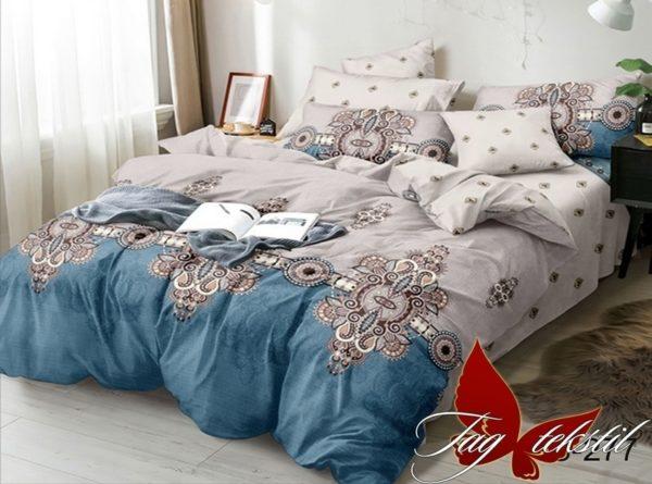 Комплект постельного белья с компаньоном S277  ПОСТЕЛЬНОЕ БЕЛЬЕ ТМ TAG > Евро > Сатин люкс ТМ TAG