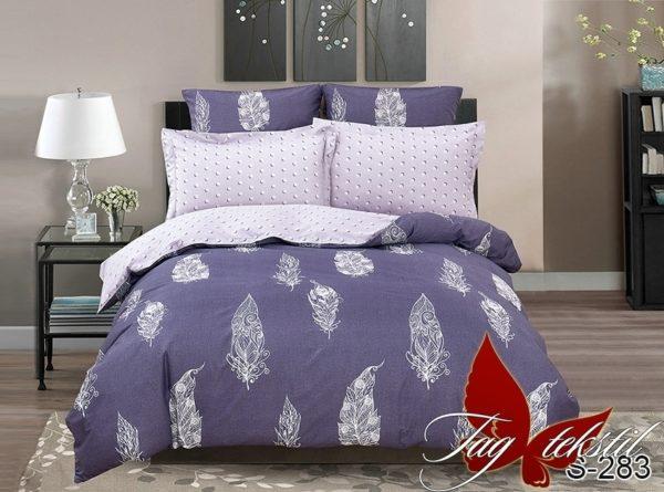 Комплект постельного белья с компаньоном S283  ПОСТЕЛЬНОЕ БЕЛЬЕ ТМ TAG > 1.5-спальные > Сатин люкс ТМ TAG