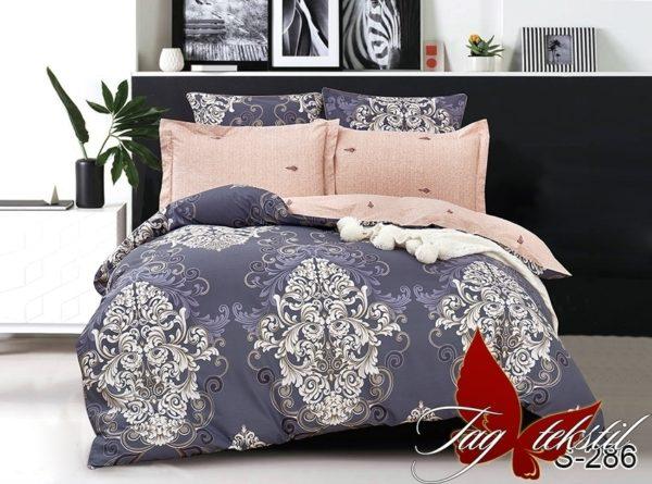 Комплект постельного белья с компаньоном S286  ПОСТЕЛЬНОЕ БЕЛЬЕ ТМ TAG > 1.5-спальные > Сатин люкс ТМ TAG