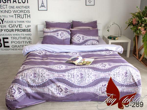 Комплект постельного белья с компаньоном S289  ПОСТЕЛЬНОЕ БЕЛЬЕ ТМ TAG > 1.5-спальные > Сатин люкс ТМ TAG