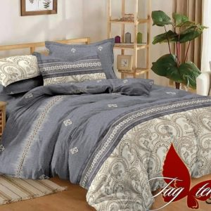 Комплект постельного белья с компаньоном S293  ПОСТЕЛЬНОЕ БЕЛЬЕ ТМ TAG > Евро > Сатин люкс ТМ TAG