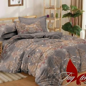 Комплект постельного белья с компаньоном S298  ПОСТЕЛЬНОЕ БЕЛЬЕ ТМ TAG > Семейные > Сатин люкс ТМ TAG