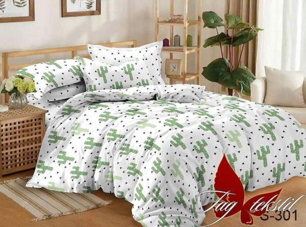 Комплект постельного белья с компаньоном S301  ПОСТЕЛЬНОЕ БЕЛЬЕ ТМ TAG > Евро > Сатин люкс ТМ TAG