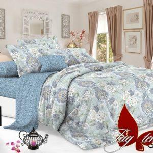 Комплект постельного белья с компаньоном S308  ПОСТЕЛЬНОЕ БЕЛЬЕ ТМ TAG > 2-спальные > Сатин люкс ТМ TAG