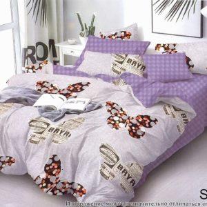 Комплект постельного белья с компаньоном S310  ПОСТЕЛЬНОЕ БЕЛЬЕ ТМ TAG > 1.5-спальные > Сатин люкс ТМ TAG