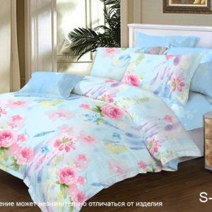 Комплект постельного белья с компаньоном S312  ПОСТЕЛЬНОЕ БЕЛЬЕ ТМ TAG > Семейные > Сатин люкс ТМ TAG