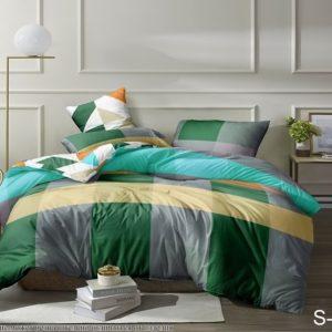 Комплект постельного белья с компаньоном S314  ПОСТЕЛЬНОЕ БЕЛЬЕ ТМ TAG > Семейные > Сатин люкс ТМ TAG
