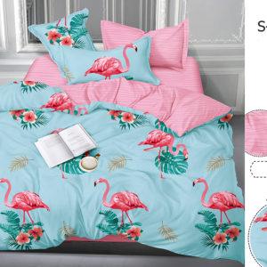 Комплект постельного белья с компаньоном S315  ПОСТЕЛЬНОЕ БЕЛЬЕ ТМ TAG > Семейные > Сатин люкс ТМ TAG