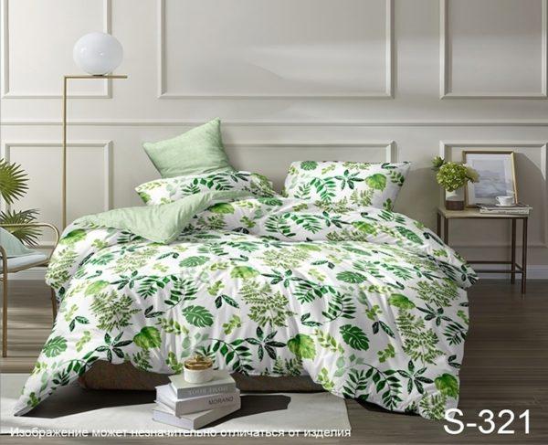 Комплект постельного белья с компаньоном S321  ПОСТЕЛЬНОЕ БЕЛЬЕ ТМ TAG > Семейные > Сатин люкс ТМ TAG