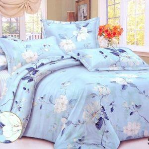 Комплект постельного белья с компаньоном S323  ПОСТЕЛЬНОЕ БЕЛЬЕ ТМ TAG > 1.5-спальные > Сатин люкс ТМ TAG