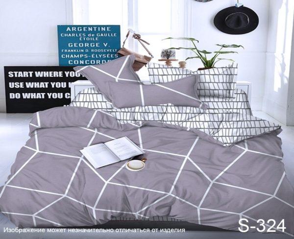 Комплект постельного белья с компаньоном S324  ТОВАРЫ СО СКИДКАМИ