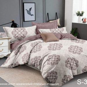 Комплект постельного белья с компаньоном S325  ПОСТЕЛЬНОЕ БЕЛЬЕ ТМ TAG > Семейные > Сатин люкс ТМ TAG