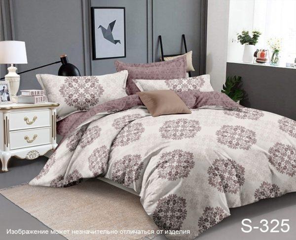 Комплект постельного белья с компаньоном S325  ПОСТЕЛЬНОЕ БЕЛЬЕ ТМ TAG > 1.5-спальные > Сатин люкс ТМ TAG