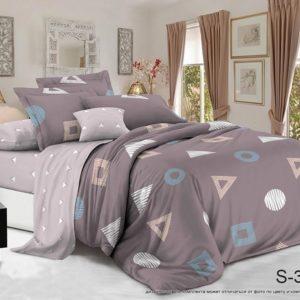 Комплект постельного белья с компаньоном S326  ПОСТЕЛЬНОЕ БЕЛЬЕ ТМ TAG > Евро > Сатин люкс ТМ TAG