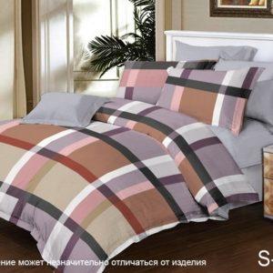 Комплект постельного белья с компаньоном S329  ПОСТЕЛЬНОЕ БЕЛЬЕ ТМ TAG > Семейные > Сатин люкс ТМ TAG