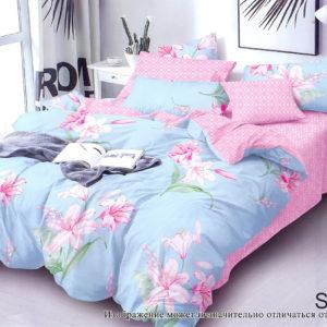 Комплект постельного белья с компаньоном S330  ПОСТЕЛЬНОЕ БЕЛЬЕ ТМ TAG > Семейные > Сатин люкс ТМ TAG