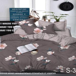 Комплект постельного белья с компаньоном S331  ПОСТЕЛЬНОЕ БЕЛЬЕ ТМ TAG > Семейные > Сатин люкс ТМ TAG
