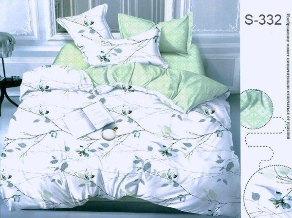 Комплект постельного белья с компаньоном S332  ПОСТЕЛЬНОЕ БЕЛЬЕ ТМ TAG > Евро > Сатин люкс ТМ TAG