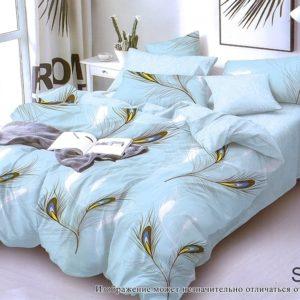 Комплект постельного белья с компаньоном S333  ПОСТЕЛЬНОЕ БЕЛЬЕ ТМ TAG > Семейные > Сатин люкс ТМ TAG