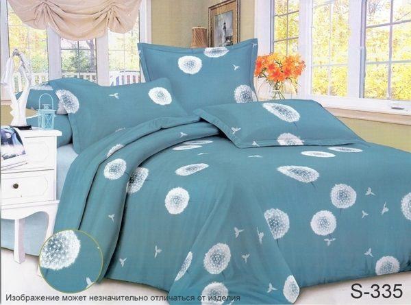 Комплект постельного белья с компаньоном S335  ПОСТЕЛЬНОЕ БЕЛЬЕ ТМ TAG > Семейные > Сатин люкс ТМ TAG