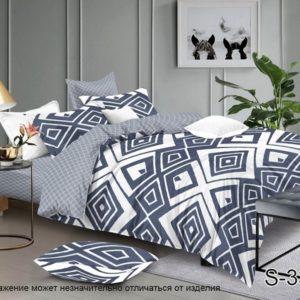 Комплект постельного белья с компаньоном S336  ПОСТЕЛЬНОЕ БЕЛЬЕ ТМ TAG > Семейные > Сатин люкс ТМ TAG