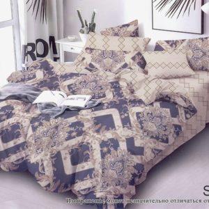 Комплект постельного белья с компаньоном S337  ПОСТЕЛЬНОЕ БЕЛЬЕ ТМ TAG > 1.5-спальные > Сатин люкс ТМ TAG