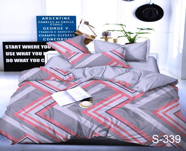 Комплект постельного белья с компаньоном S339  ПОСТЕЛЬНОЕ БЕЛЬЕ ТМ TAG > 1.5-спальные > Сатин люкс ТМ TAG