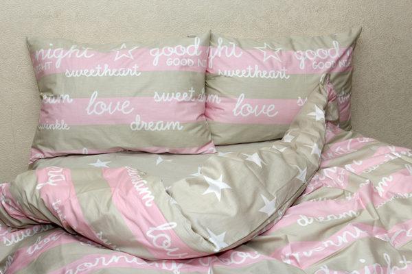 Комплект постельного белья с компаньоном S343 1 Постельный комплект