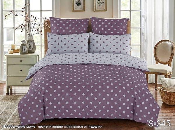 Комплект постельного белья с компаньоном S345  ПОСТЕЛЬНОЕ БЕЛЬЕ ТМ TAG > Семейные > Сатин люкс ТМ TAG