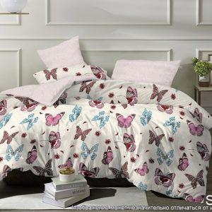 Комплект постельного белья с компаньоном S346  ПОСТЕЛЬНОЕ БЕЛЬЕ ТМ TAG > Семейные > Сатин люкс ТМ TAG