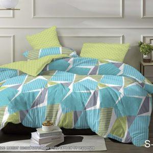 Комплект постельного белья с компаньоном S350  ПОСТЕЛЬНОЕ БЕЛЬЕ ТМ TAG > 2-спальные > Сатин люкс ТМ TAG