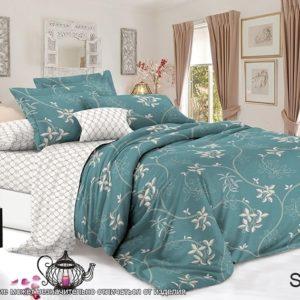 Комплект постельного белья с компаньоном S352  ПОСТЕЛЬНОЕ БЕЛЬЕ ТМ TAG > Семейные > Сатин люкс ТМ TAG