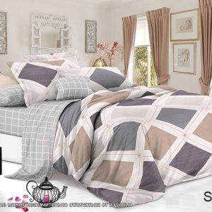 Комплект постельного белья с компаньоном S353  ПОСТЕЛЬНОЕ БЕЛЬЕ ТМ TAG > Семейные > Сатин люкс ТМ TAG