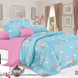 Комплект постельного белья с компаньоном S356  ПОСТЕЛЬНОЕ БЕЛЬЕ ТМ TAG > Семейные > Сатин люкс ТМ TAG